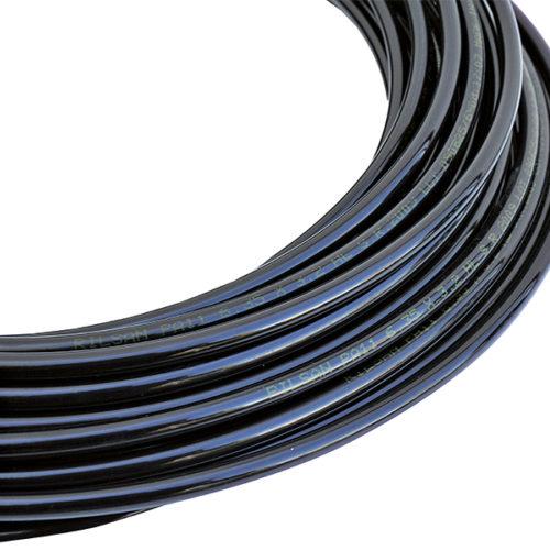 Optie: IT.0250, Zwarte Polymide Pijp, 6.35x3,2mm - 25 Meter Extra Aansluitslang